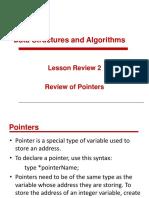 COEN 3054 Module 3 - Pointers
