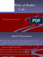 The Canterbury Tales Wife of Bath PowerPoint.ppt