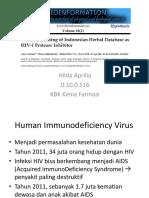 Kapsel - Kimia - Virtual Screening Indonesian Herbal Database as HIV-1 Protease Inhibitor