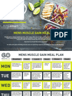 Mens Muscle Gain Meal Plan