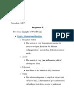 assignment 9
