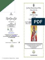 2019 4 Dec Festal Vespers St Barbara