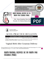 1_Vaginal Birth After Cesarean Delivery