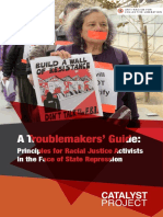 A Troublemakers Guide Principles for Racial Justice Activists in the Face of State Repression FINAL