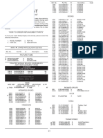 Parts List 21dxs288rd Br Mr Mb