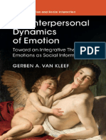 (Studies in Emotion and Social Interaction) Gerben a. Van Kleef - The Interpersonal Dynamics of Emotion_ Toward an Integrative Theory of Emotions as Social Information-Cambridge University Press (2016