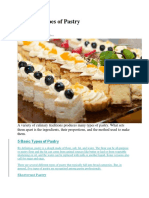 Different Types of Pastry