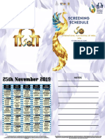 IFFI 2019 Festival Schedule phase-2