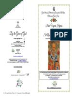 2019-6 Dec- Vespers - St Nicholas