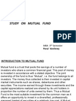 Mutual Fund Ppt 123