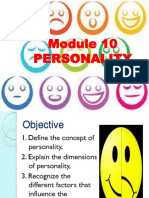10 Personality