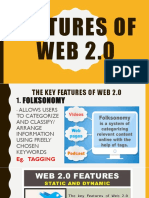 Features of Web 2.0