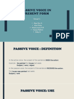 Passive voice G.5