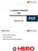CORPORATE STRATEGY LECTURE 01