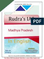 Madhya Pradesh  Notes PDF in English for MPPSC latest
