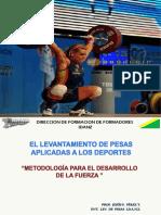 Ponencia Pesas Aplicadas-Prof. Jesús Pérez.pptx