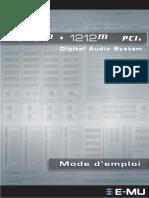 EMU1616m-PCIe Manuel Fr(1)
