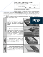 FT Limites de Placas e Deformacao de Rochas