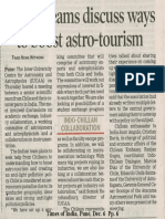 India Chile AstronomyDialouge ToI 6Dec2019