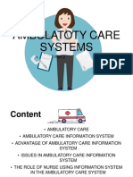 AMBULATOTY-CARE