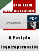 Aula 2 - A posição Esquizoparanoide.pptx