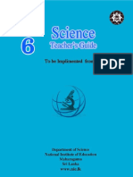 Science G6 Sri Lanka Teacher's Guide