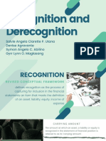 Recognition and Derecognition