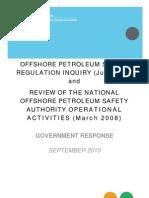 GovtResponse-NOPSAReviewSept2010