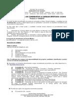 Orientações Para Os Candidatos a Cargos Efetivos (12º Chamada)