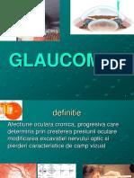 GLAUCOM curs oftalmologie