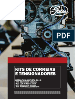 Gates Catalogo Kits de Correias 2019