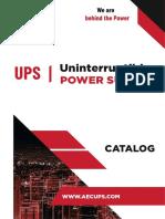 AEC UPS Catalogue 2020