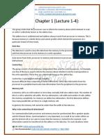 CS401_Short Notes Chapter 1