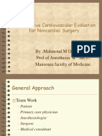 Anesth for non cardiac surgery.D. M othman.ppt