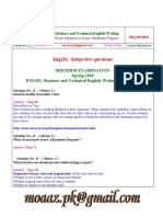 Business and Technical English Writing - ENG201 Spring 2010 Mid Term Paper Session-3.pdf