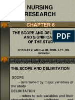 CHAPTER 6-nursing research