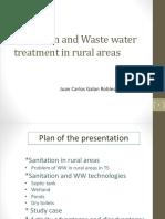 Sanitation in Rural Areas