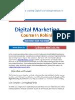 Why DMSN is the Leading Digital Marketing Institute in Delhi
