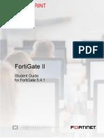 FortiGate II Student Guide V5.4.1