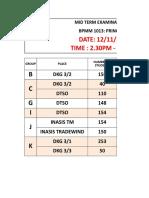 MID SEM TIME TABLE BPMM 1013 AND EXAM VENUE.xlsx