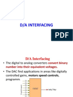 Lecture 8255 Interfacing DAC Seven Segment Display