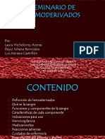 SEMINARIO HEMODERIVADOS