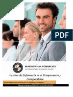 Curso Auxiliar Enfermeria Preoperatorio Postoperatorio