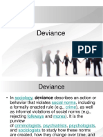 Five Types of Deviance