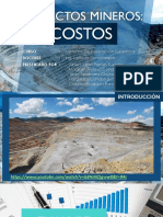01 Proyectos Mineros Costos