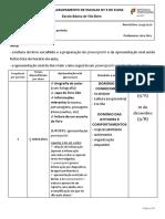 Instruções para apresentação oral 9 Ano