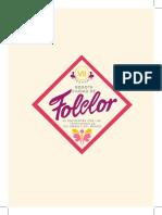 programa folclor Impresión