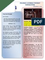 Newsletter 12 05 19