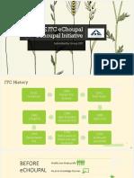 THE ITC eChoupal.pptx