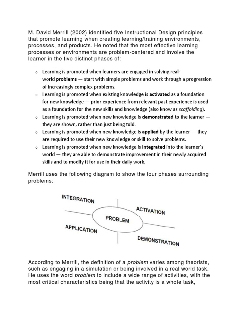 Merrils Principle Docx